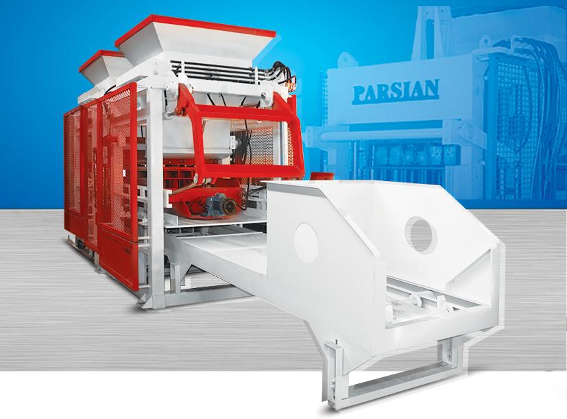 دستگاه تمام اتوماتیک تولید سنگفرش TP.RN1518