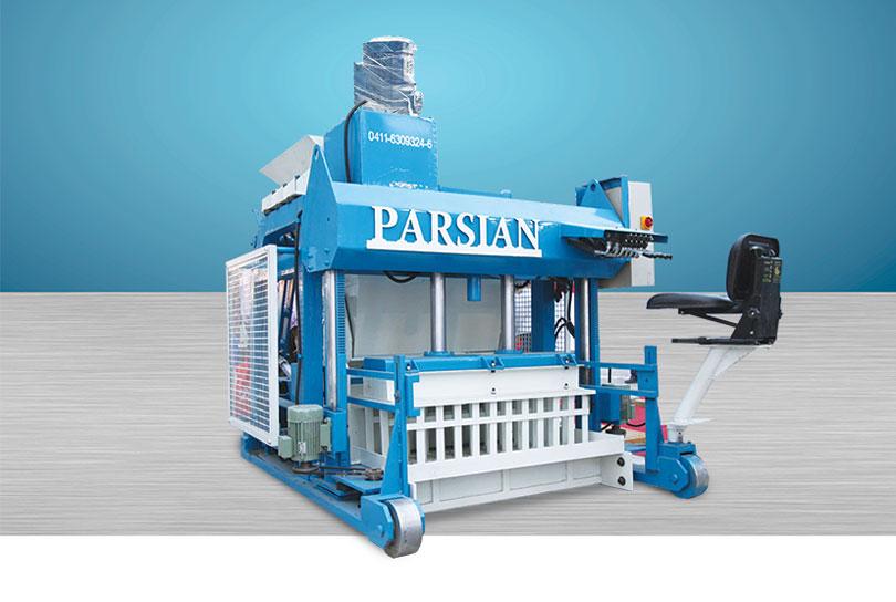 دستگاه متحرک تولید بلوک KAD1300