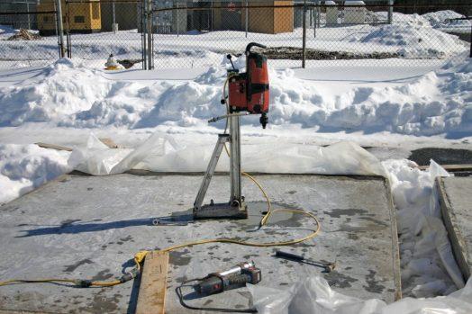 اصول بتن ریزی در هوای سرد