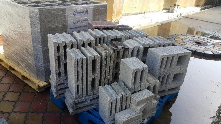 خط تولید تمام اتوماتیک بلوک سیمانی