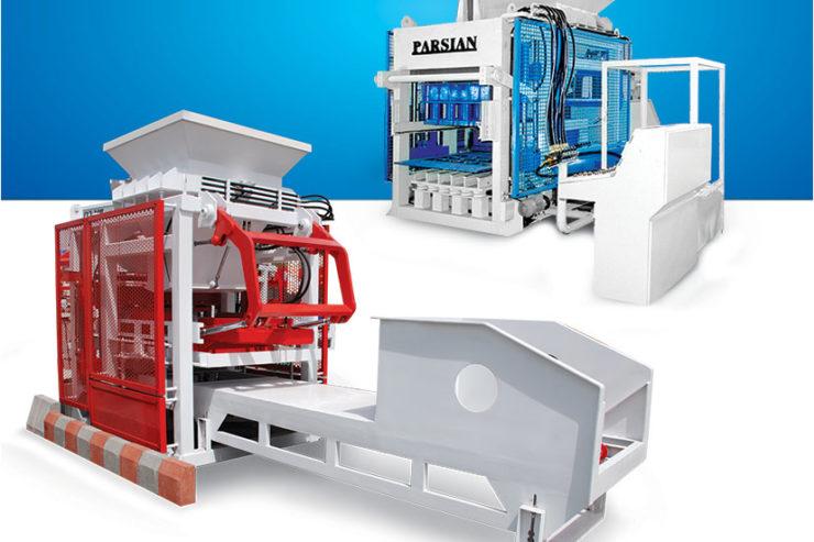 دستگاه تولید بلوک و جدول و سنگفرش TP.RN1500