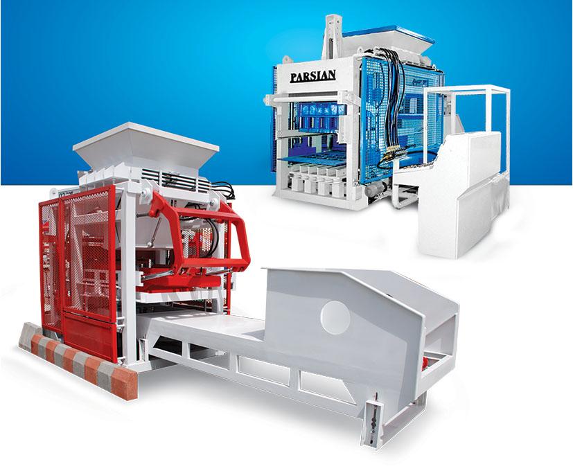 دستگاه تولید انواع بلوک و جدول و سنگفرش TP.RN1500
