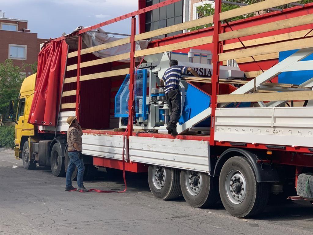 ترانزیت ماشین آلات به کشور ارمنستان