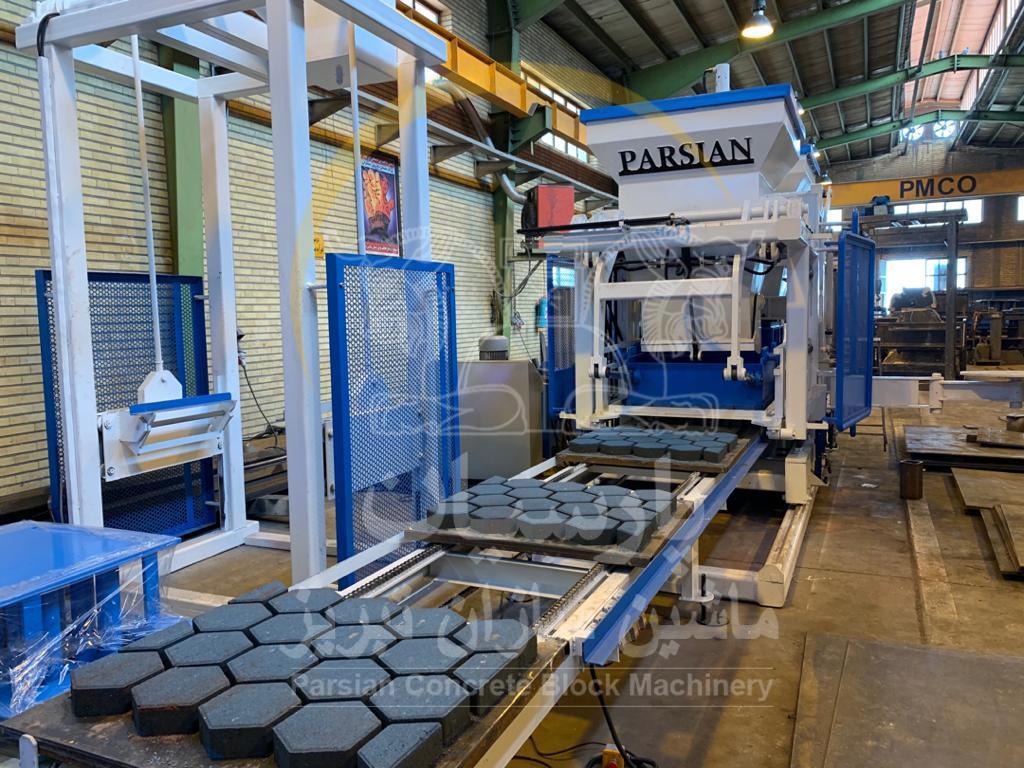 بزرگترین سازنده ماشین آلات تولید قطعات بتنی