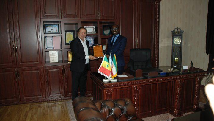 بازدید سفیر سنگال